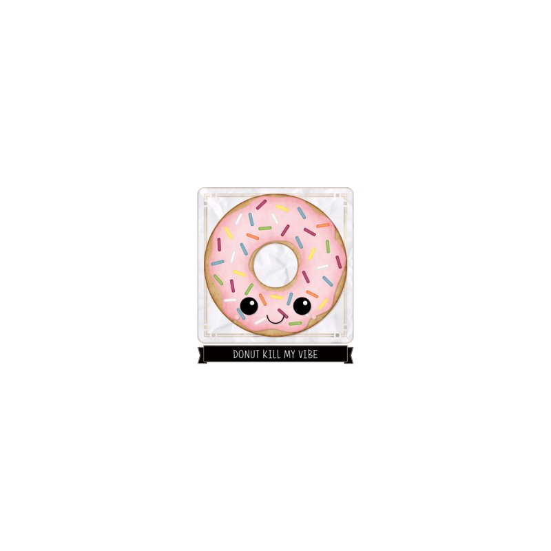 Donut Kill My Vibe Women's V-Neck by boogleloo's Shop