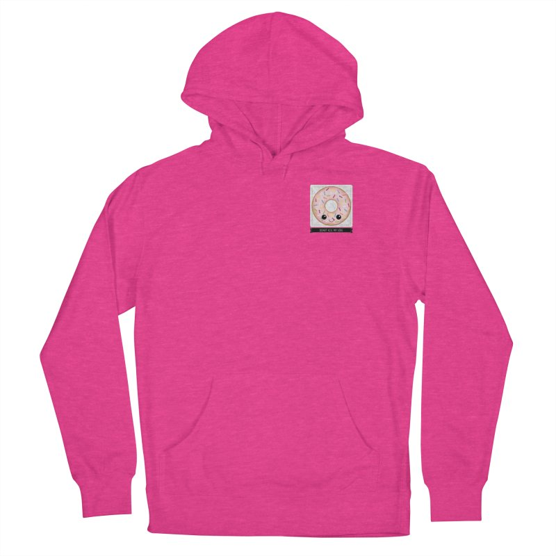 Donut Kill My Vibe Men's French Terry Pullover Hoody by boogleloo's Shop