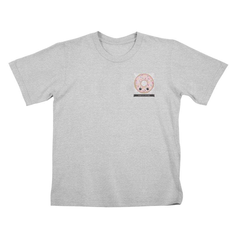 Donut Kill My Vibe Kids T-Shirt by boogleloo's Shop