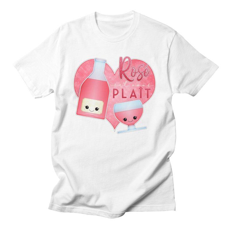 Rose S'il Vous Plait Men's T-Shirt by boogleloo's Shop