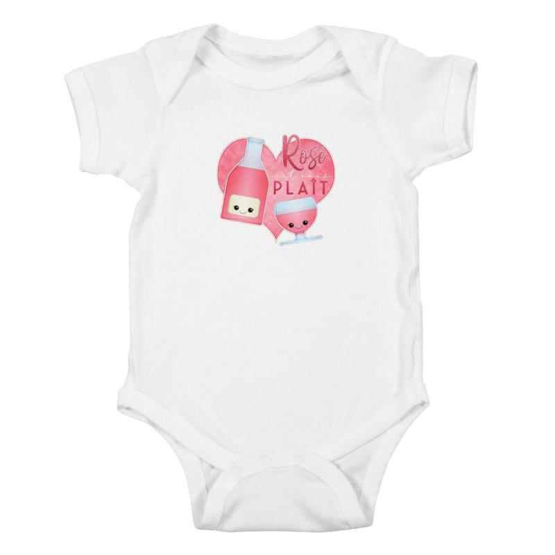 Rose S'il Vous Plait Kids Baby Bodysuit by boogleloo's Shop