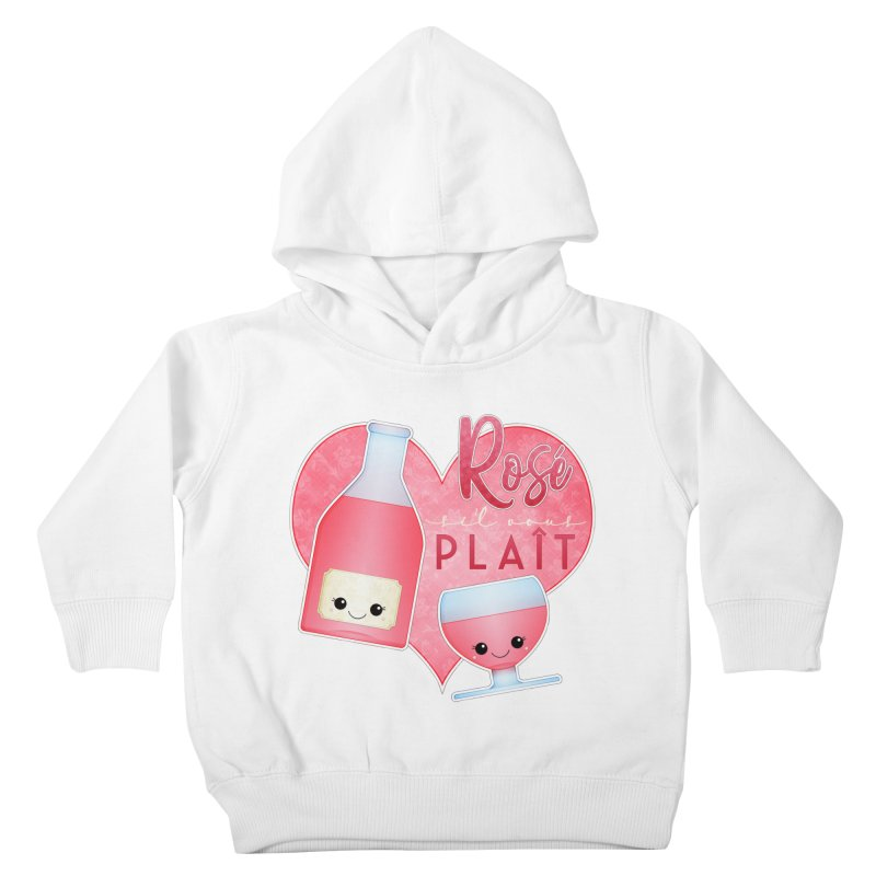 Rose S'il Vous Plait Kids Toddler Pullover Hoody by boogleloo's Shop