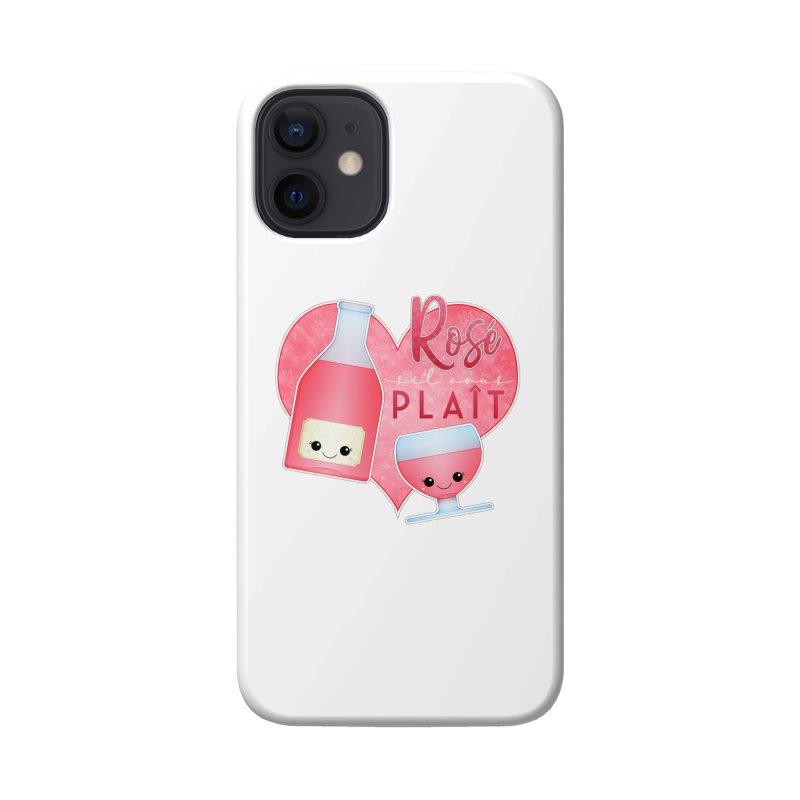 Rose S'il Vous Plait Accessories Phone Case by boogleloo's Shop