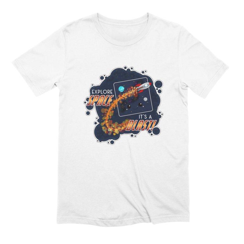 Explore Space Men's T-Shirt by boogleloo's Shop