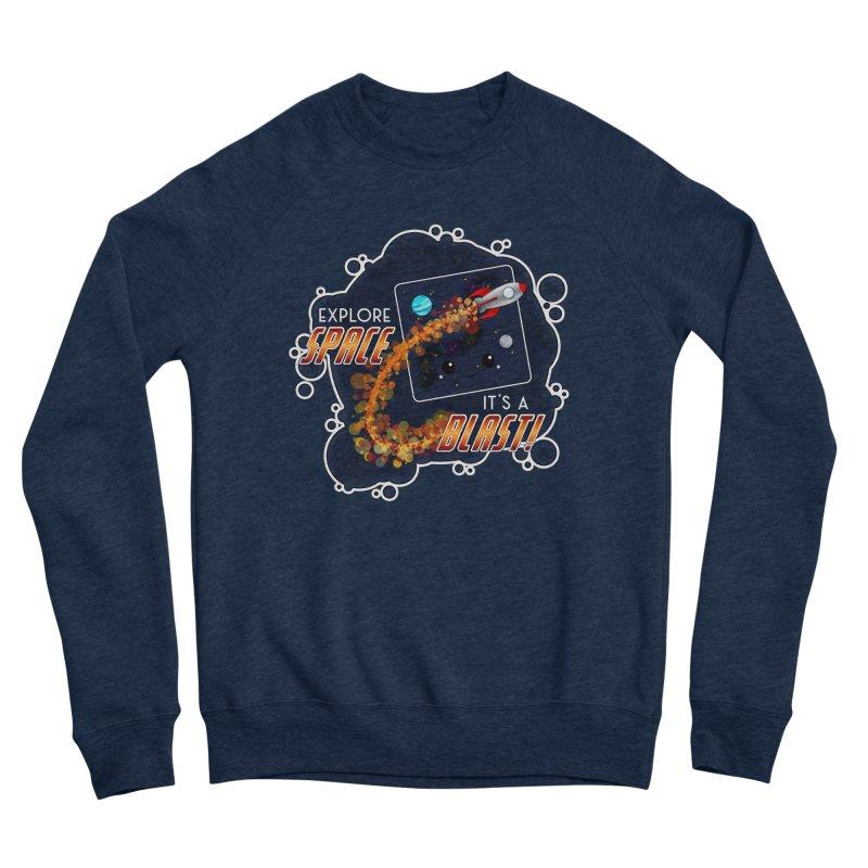 Explore Space Men's Sweatshirt by boogleloo's Shop