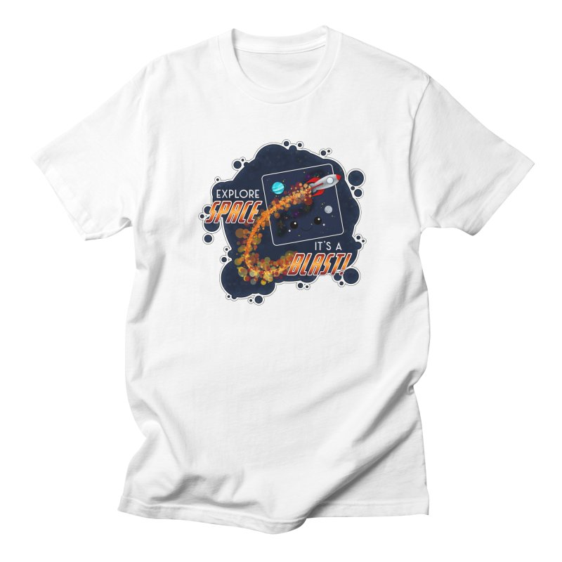 Explore Space Men's T-Shirt by boogleloo's Shop
