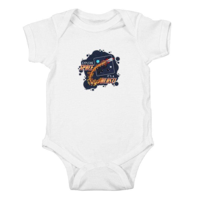 Explore Space Kids Baby Bodysuit by boogleloo's Shop