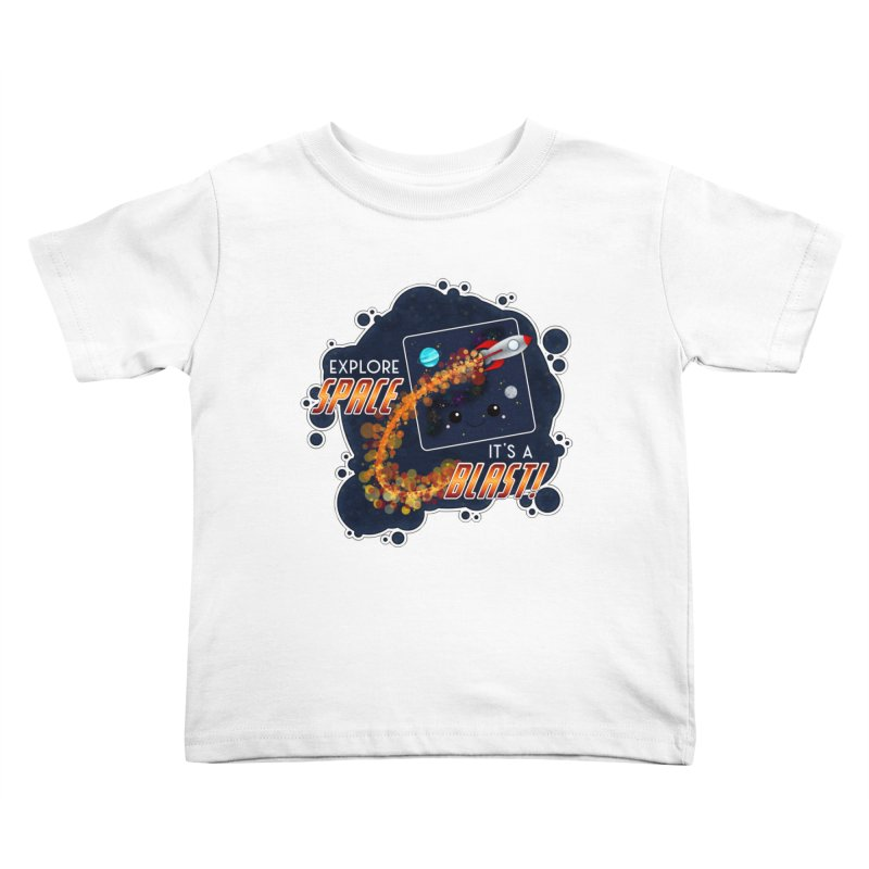 Explore Space Kids Toddler T-Shirt by boogleloo's Shop