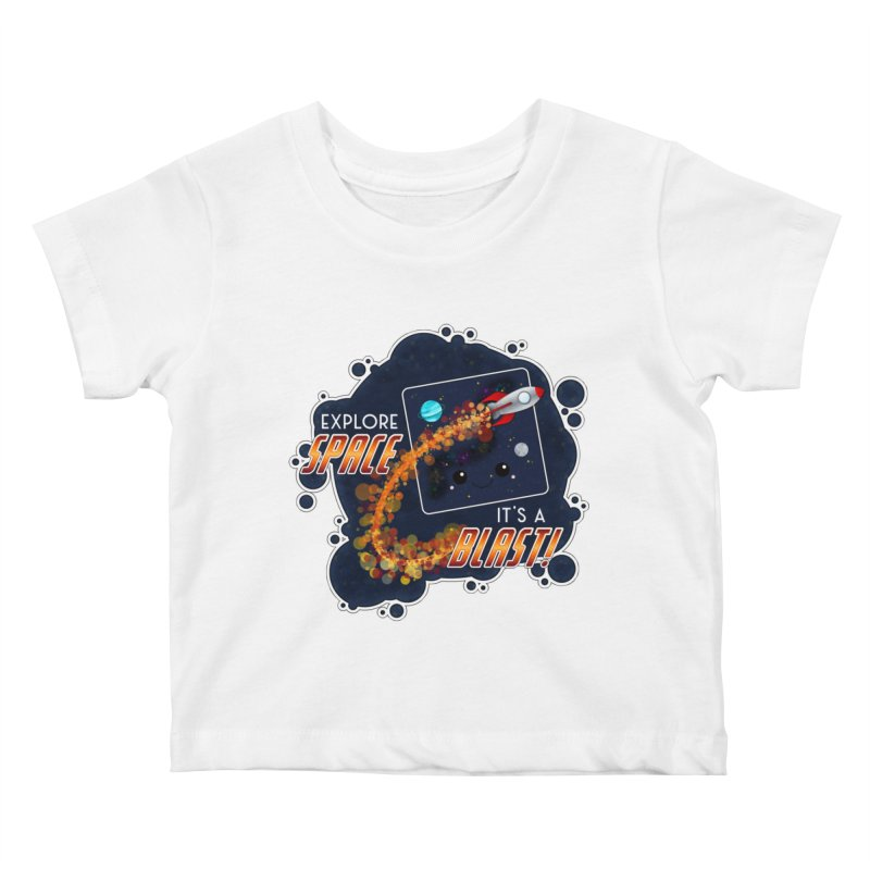 Explore Space Kids Baby T-Shirt by boogleloo's Shop