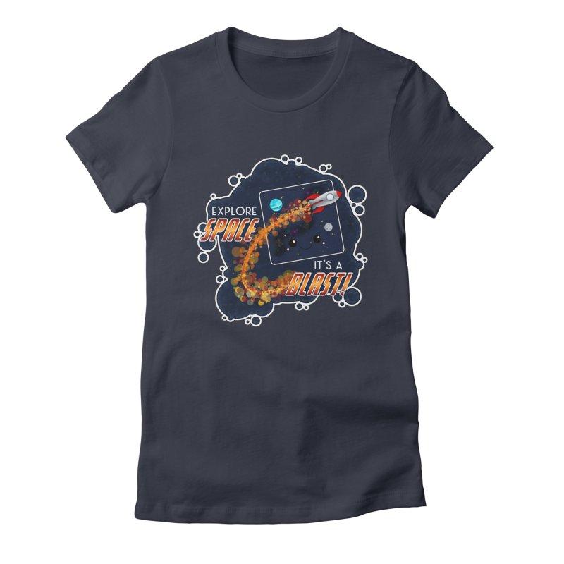 Explore Space Women's T-Shirt by boogleloo's Shop