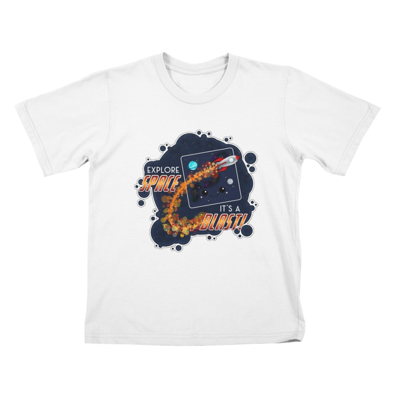 Explore Space Kids T-Shirt by boogleloo's Shop