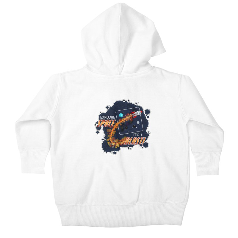 Explore Space Kids Baby Zip-Up Hoody by boogleloo's Shop