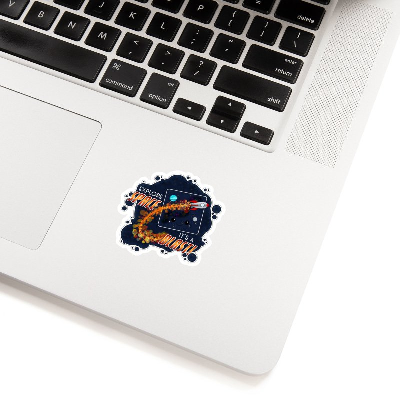 Explore Space Accessories Sticker by boogleloo's Shop