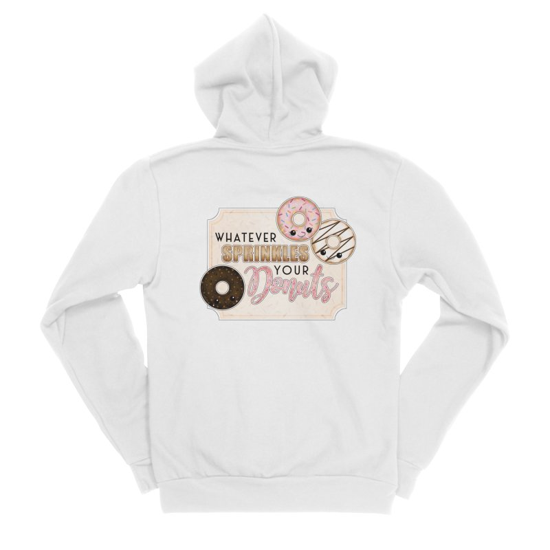 Whatever Sprinkles Your Donuts Men's Zip-Up Hoody by boogleloo's Shop