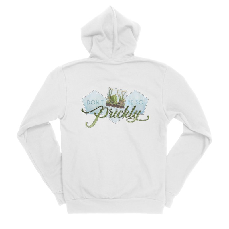 Don't Be So Prickly Men's Sponge Fleece Zip-Up Hoody by boogleloo's Shop