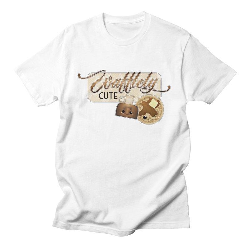Wafflely Cute Women's T-Shirt by boogleloo's Shop