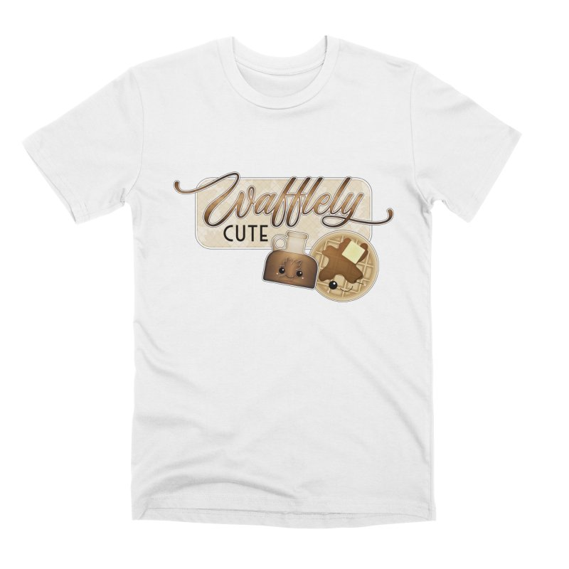 Wafflely Cute Men's T-Shirt by boogleloo's Shop