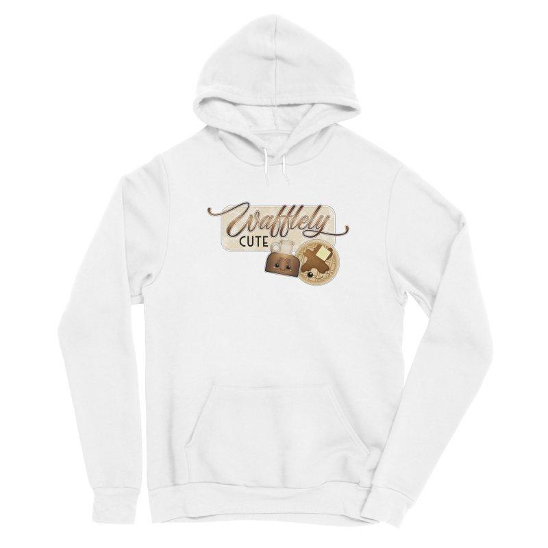 Wafflely Cute Men's Pullover Hoody by boogleloo's Shop