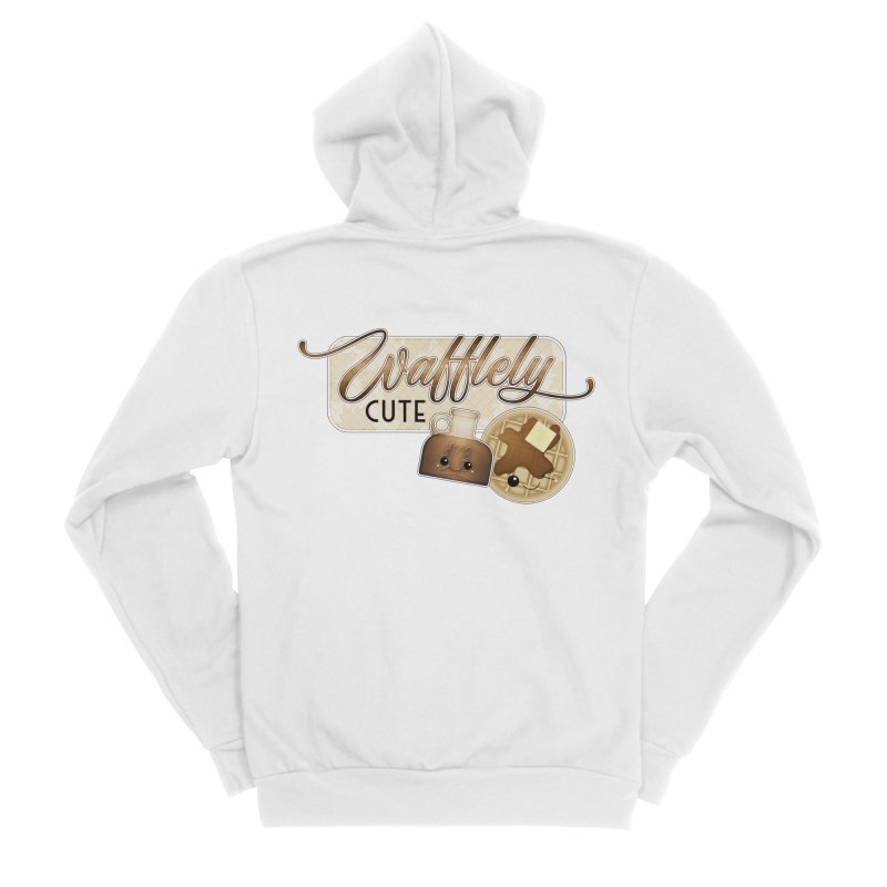 Wafflely Cute Men's Zip-Up Hoody by boogleloo's Shop