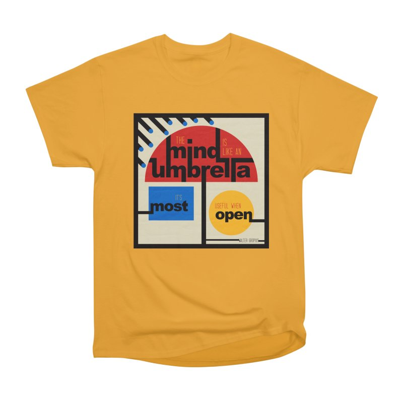 The Mind Is Like An Umbrella Men's T-Shirt by boogleloo's Shop