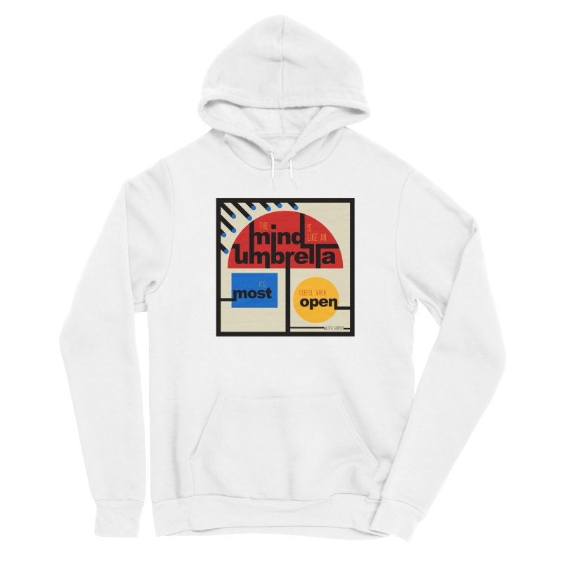 The Mind Is Like An Umbrella Men's Pullover Hoody by boogleloo's Shop