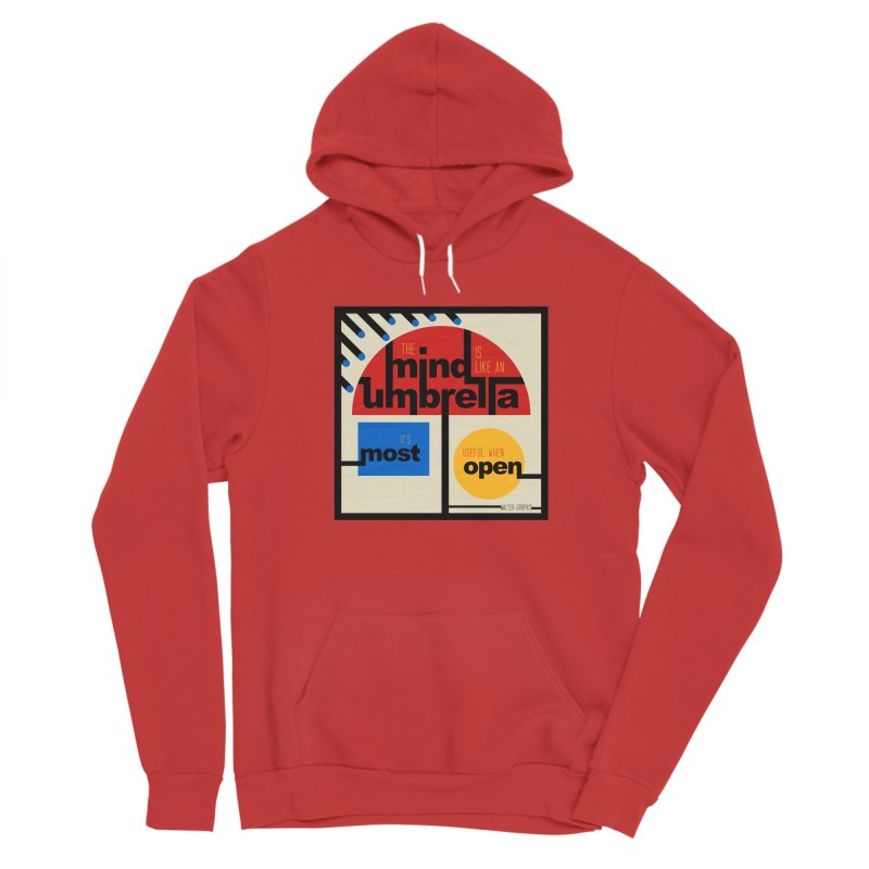 The Mind Is Like An Umbrella Women's Pullover Hoody by boogleloo's Shop