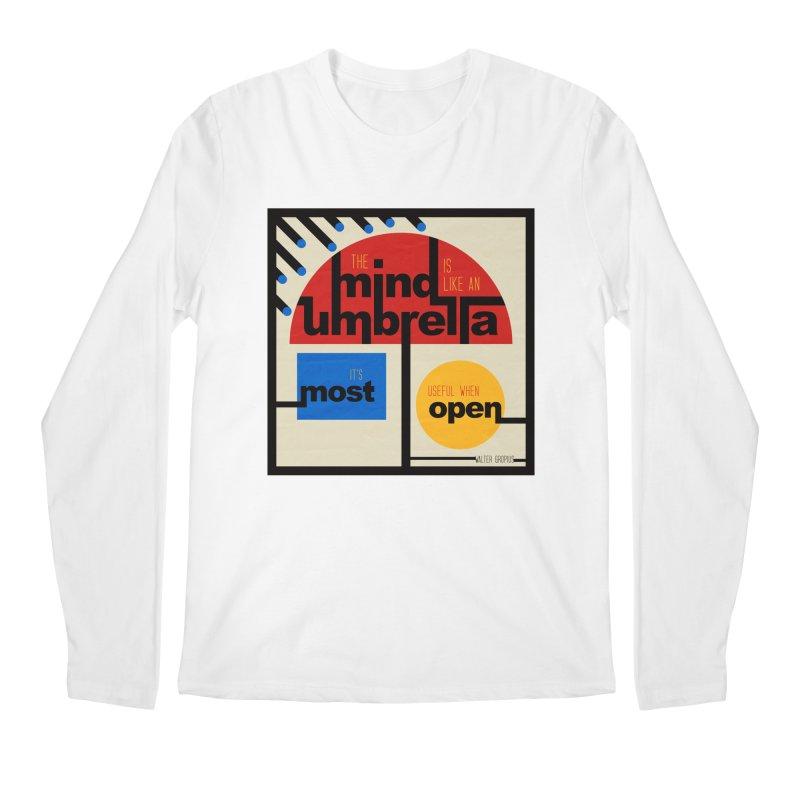 The Mind Is Like An Umbrella Men's Longsleeve T-Shirt by boogleloo's Shop