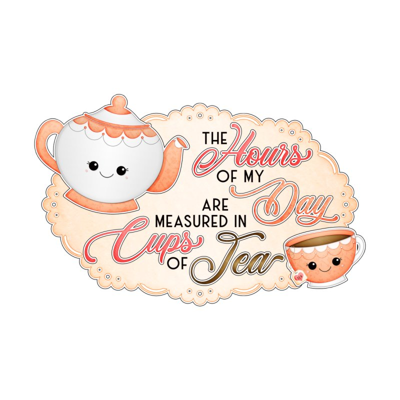Cups Of Tea Accessories Sticker by boogleloo's Shop
