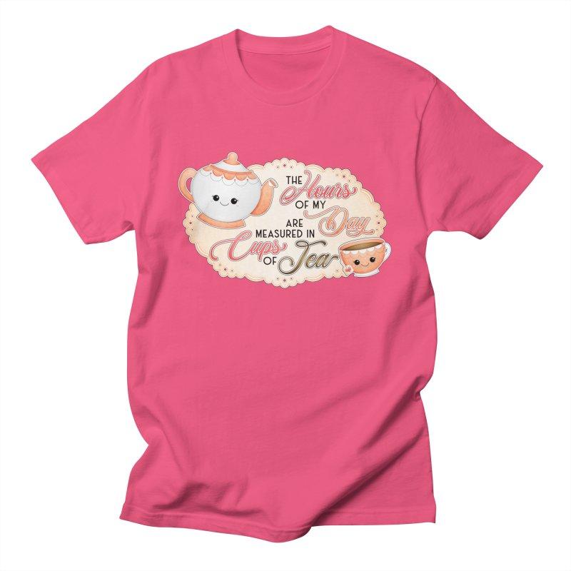Cups Of Tea Men's T-Shirt by boogleloo's Shop