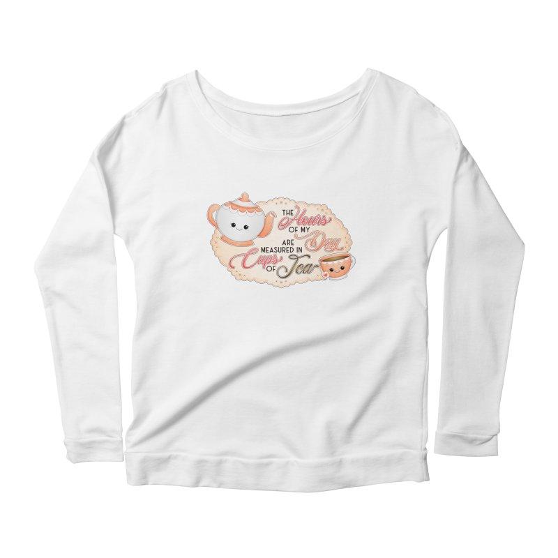 Cups Of Tea Women's Longsleeve T-Shirt by boogleloo's Shop