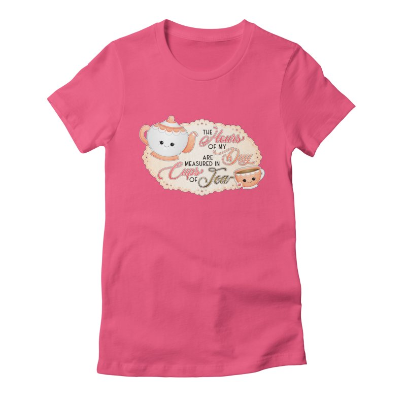 Cups Of Tea Women's T-Shirt by boogleloo's Shop