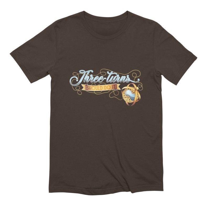 Three Turns Men's T-Shirt by boogleloo's Shop