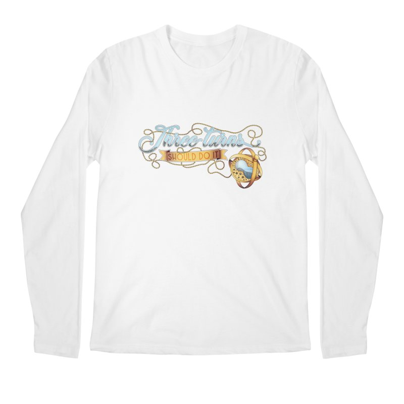 Three Turns Men's Longsleeve T-Shirt by boogleloo's Shop