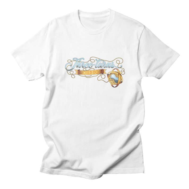 Three Turns Men's T-Shirt by boogleloo's Shop