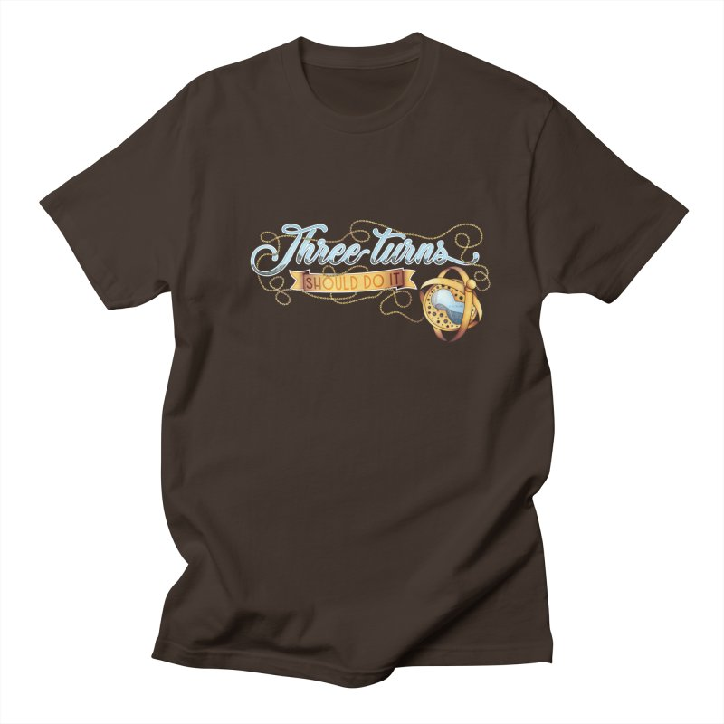 Three Turns Men's Regular T-Shirt by boogleloo's Shop