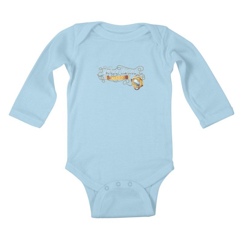 Three Turns Kids Baby Longsleeve Bodysuit by boogleloo's Shop