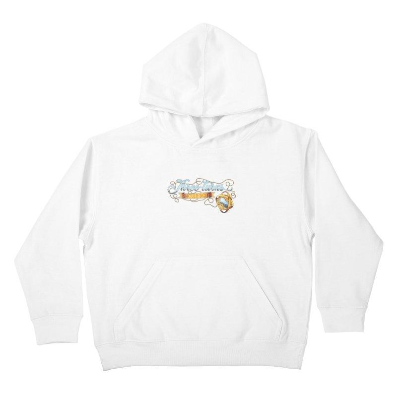 Three Turns Kids Pullover Hoody by boogleloo's Shop