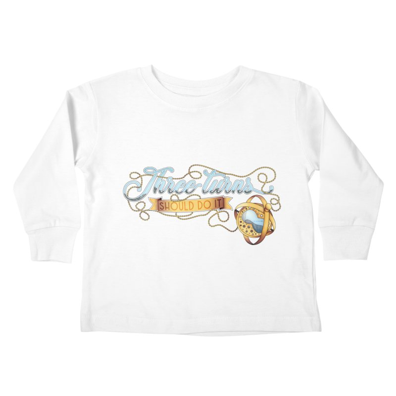 Three Turns Kids Toddler Longsleeve T-Shirt by boogleloo's Shop
