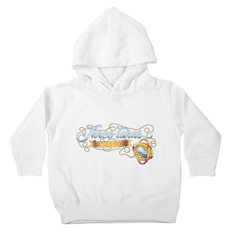 Three Turns Kids Toddler Pullover Hoody by boogleloo's Shop