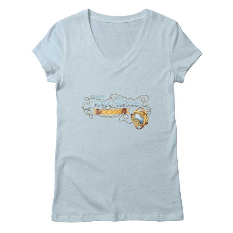 Three Turns Women's V-Neck by boogleloo's Shop