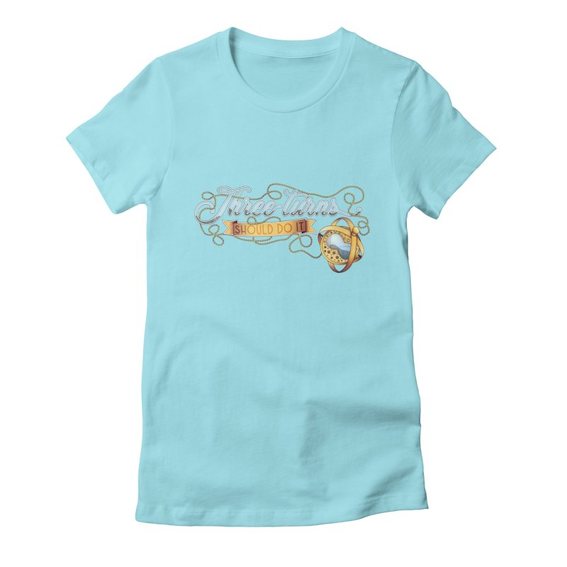 Three Turns Women's T-Shirt by boogleloo's Shop