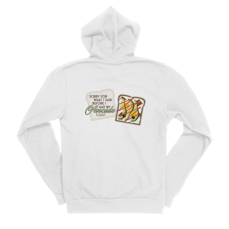 Before Avocado Toast Men's Sponge Fleece Zip-Up Hoody by boogleloo's Shop