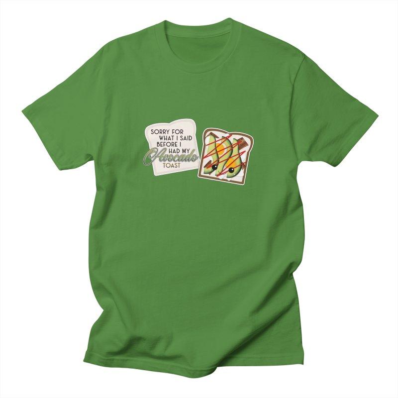 Before Avocado Toast Men's T-Shirt by boogleloo's Shop