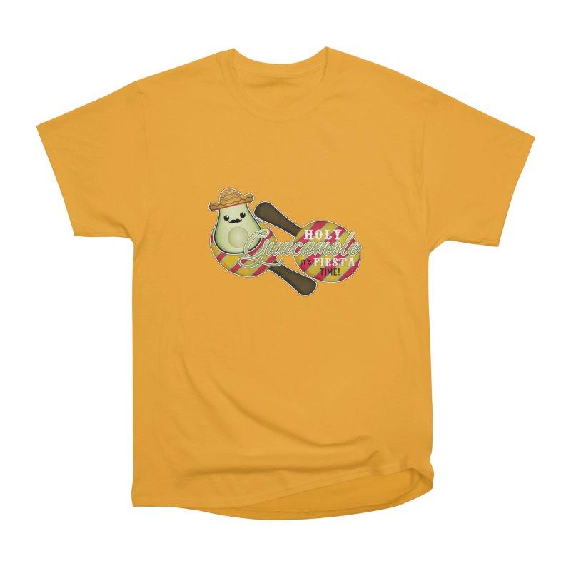 Holy Guacamole Men's T-Shirt by boogleloo's Shop