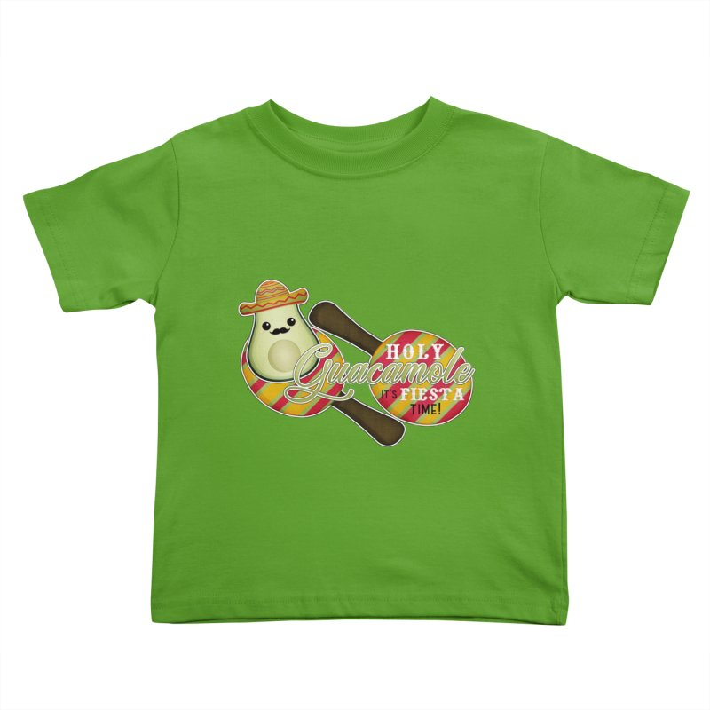 Holy Guacamole Kids Toddler T-Shirt by boogleloo's Shop