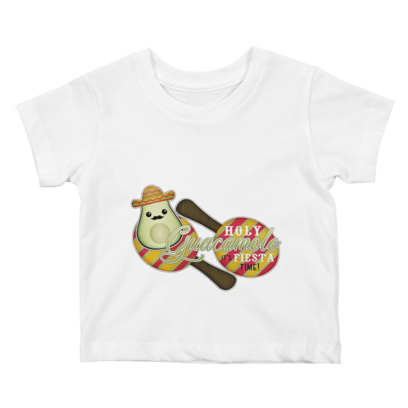 Holy Guacamole Kids Baby T-Shirt by boogleloo's Shop