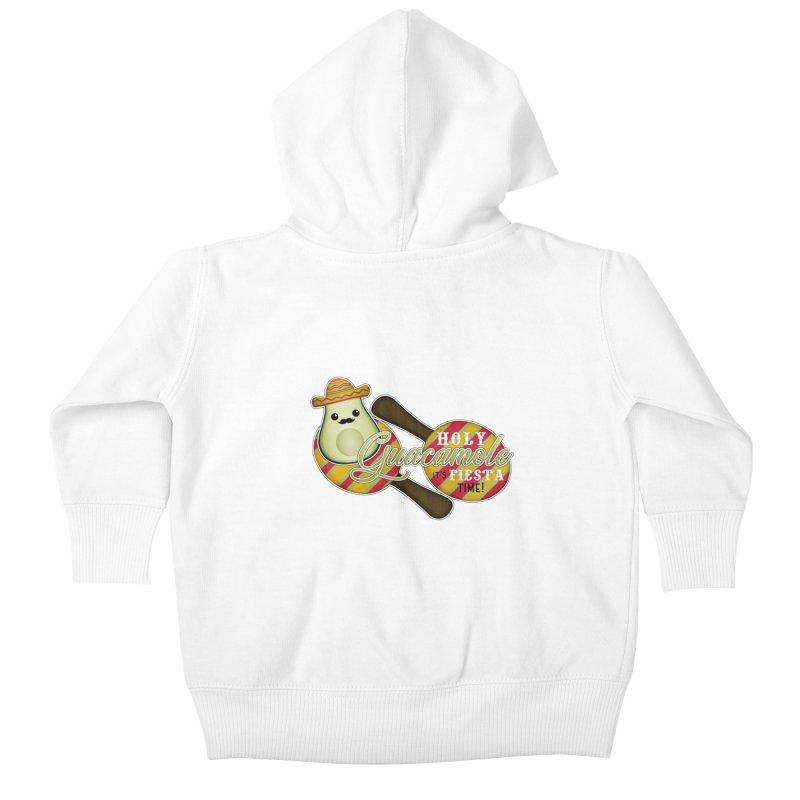 Holy Guacamole Kids Baby Zip-Up Hoody by boogleloo's Shop
