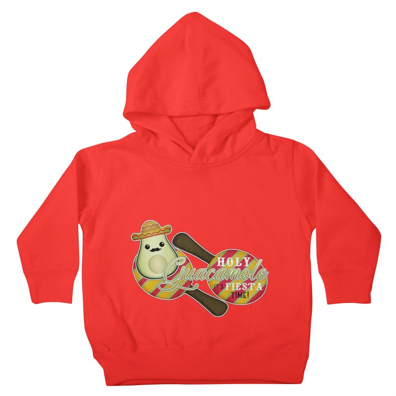Holy Guacamole Kids Toddler Pullover Hoody by boogleloo's Shop
