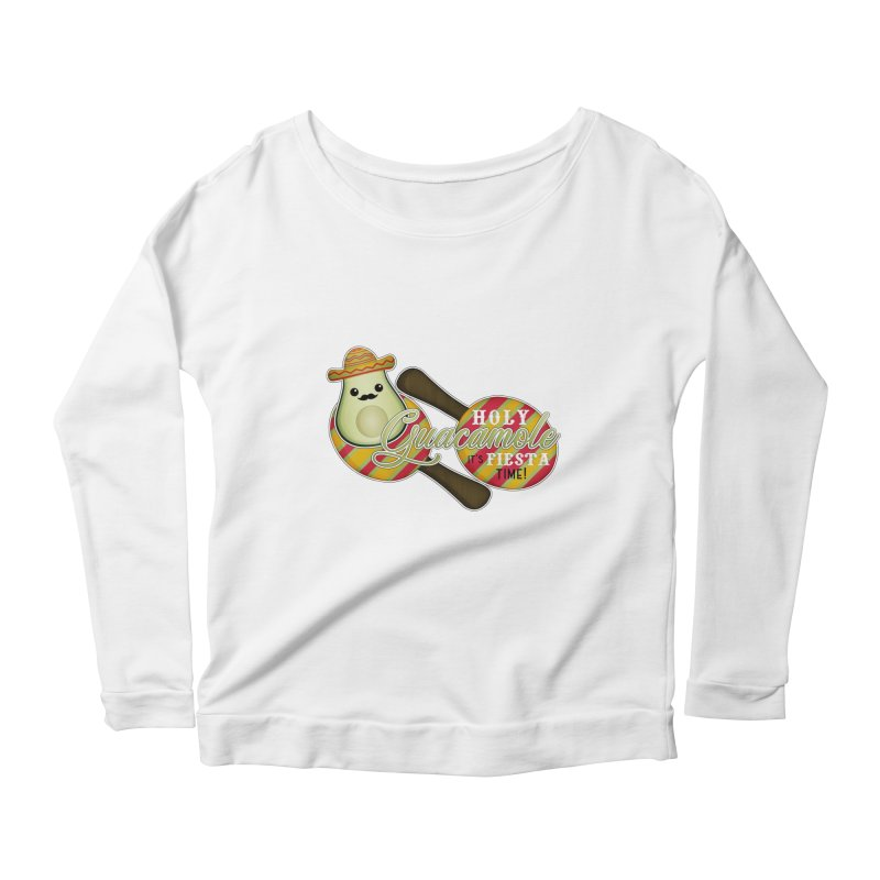 Holy Guacamole Women's Longsleeve T-Shirt by boogleloo's Shop