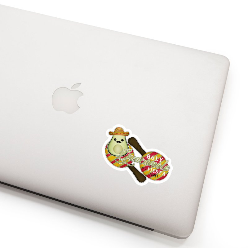Holy Guacamole Accessories Sticker by boogleloo's Shop